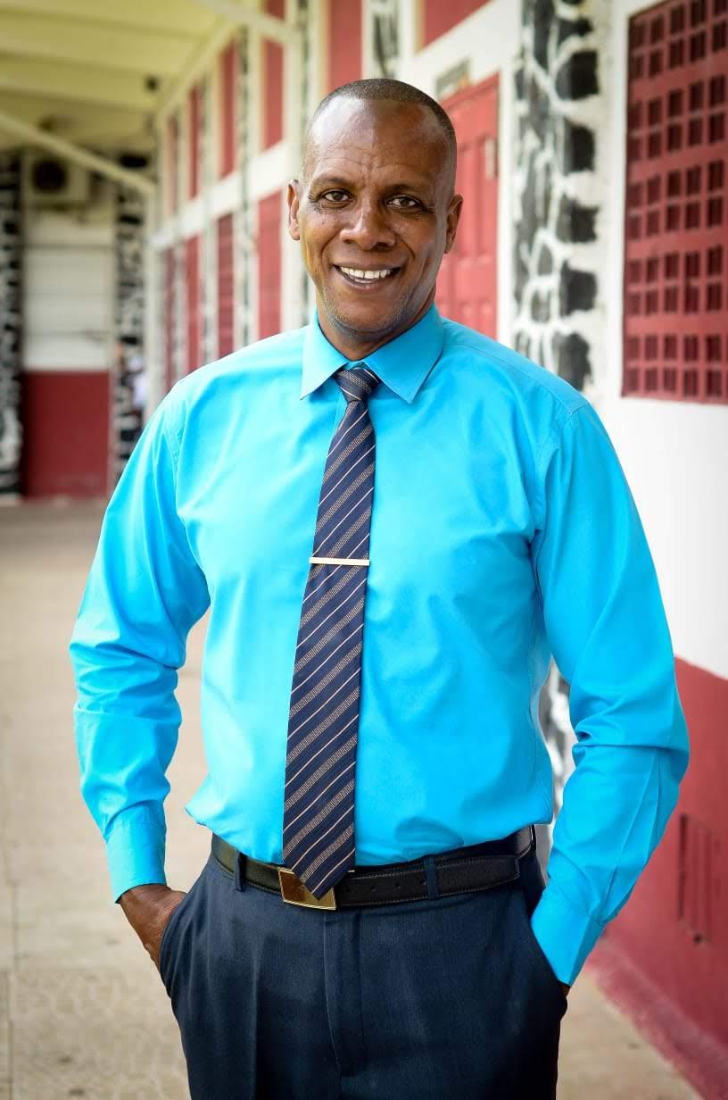 Vice Principal Peter Louisy