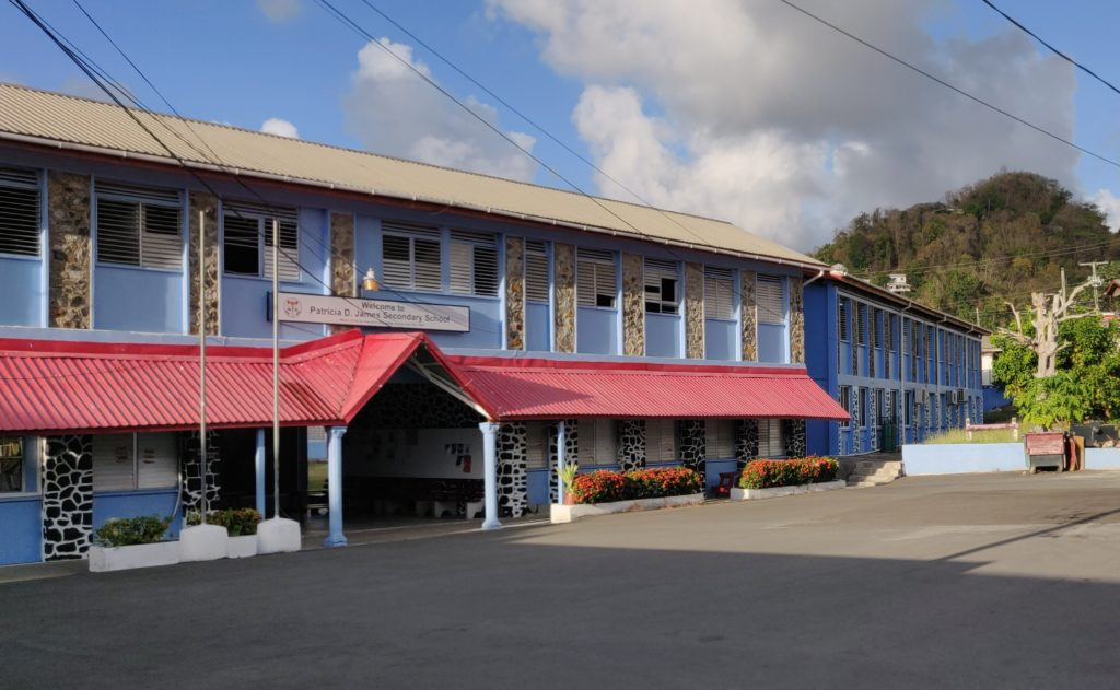 front of PDJSS campus